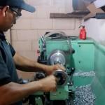 Torno para piezas de las maquinas de autolavado