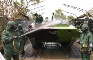 Lavado militar - Lavado de tanques Militares - Lavado equipos Militares
