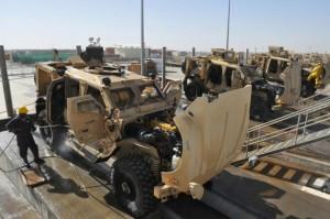 lavado militar